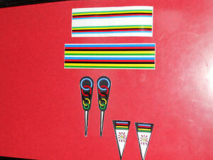 NOS-World-champ-stripes-stickers-bike-frame-fork-stem-cycling-NEW-decal-champion