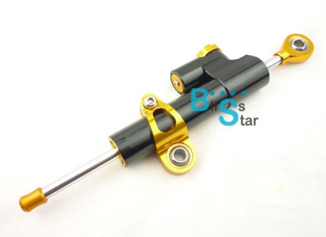 Universal CNC Motorcycle 250mm Linear Reversed Adjustable Steering Damper