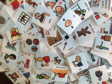 LOT 200+ PECS FOOD DRINKS CARDS AUTISM SPEECH ABA THERAPY ASPERGER ASD APRAXIA