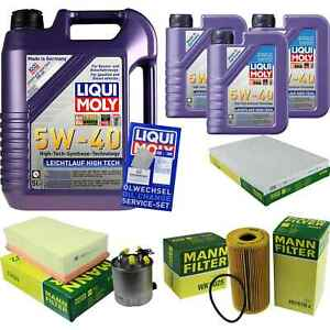 Inspection-Kit-Filter-LIQUI-MOLY-Oil-8L-5W-40-For-Nissan-Qashqai-2-IN-J10