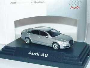 1-87-Audi-A6-C6-argent-clair-argent-argent-Dealer-Edition-Busch-5010406112