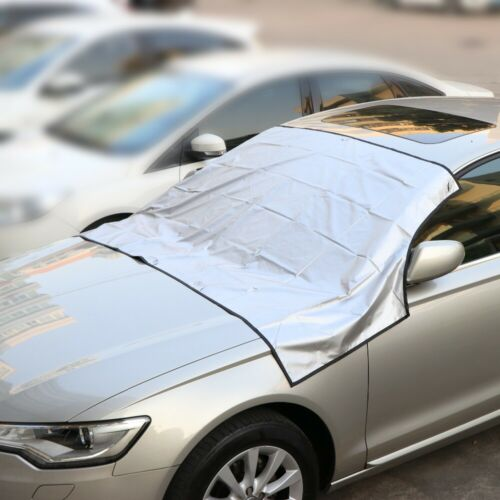 Car Windshield Cover Windscreen Front Glass Sun Shade Snow Frost Dust Protectors