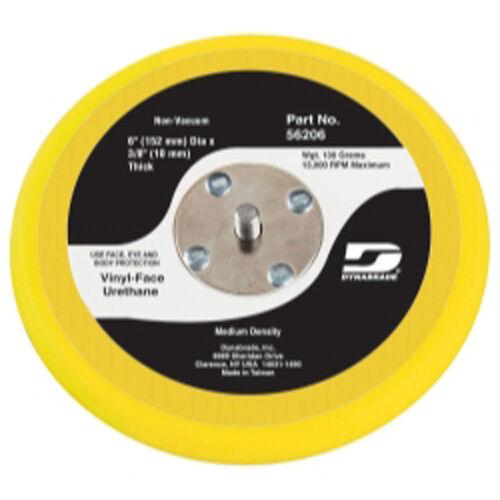 "Dynabrade 56107 6/"" Non-Vac Disc Pad Vinyl-Face 3//8/"" Thickness 21035 59025 59025"