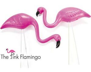 Pink-Flamingo-Mini-Yard-Ornaments-1-Box-of-2-Flocking-Lawn-Decoration