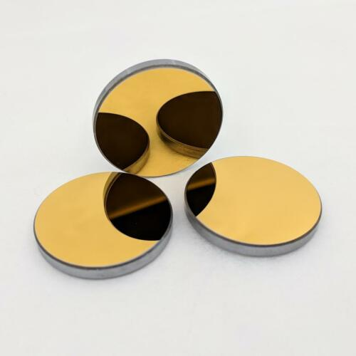 Gold Coated Si Reflection Mirror for CO2 Laser Engraving Cutter 25mm