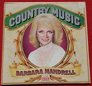 Barbara Mandrell Time-Life Country Music Collection LP 1981 Original Vinyl Album