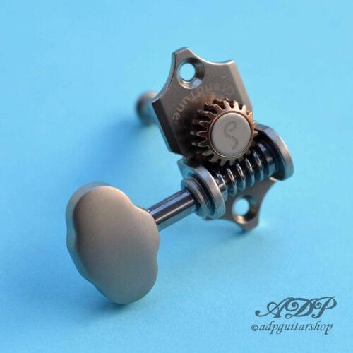 Mecaniques Schaller Grand Tune 3L3R StyleWaverly 1:18 Butterbean SatinChr Tuners
