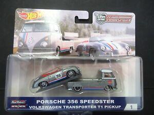 hot wheels vw t1 transporter and porsche 356 speedster. Black Bedroom Furniture Sets. Home Design Ideas
