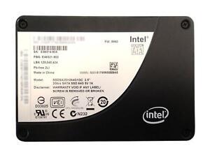 """Intel x25-e ssdsa2sh064g1gc 64gb slc ssd 2. 5"""" sata drive   ebay."""