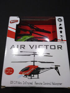 034-Air-Victor-034-2CH-I-R-Mini-Infrared-Remote-Control-Helicopter-New