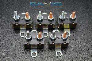 (5) PCS 50 AMP AUTO RESET CIRCUIT BREAKER ELECTRIC WIRING POWER SWITCH CB50AR
