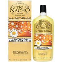 Tio Nacho Natural Lightening - Volumizing Shampoo 14 Oz (pack Of 4)