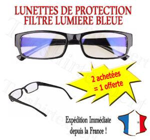 économiser jusqu'à 60% professionnel de la vente à chaud enfant Détails sur Lunettes Anti Lumière Bleue Repos Contre Fatigue Ordinateur  Protection Ecran TV