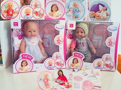 Baby Born Interactive Dolls With Accessories Amp Lifelike