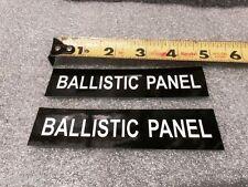 Police Ford Interceptor P71 Ballistic Door Panel Emblem Crown Vic  CVPI