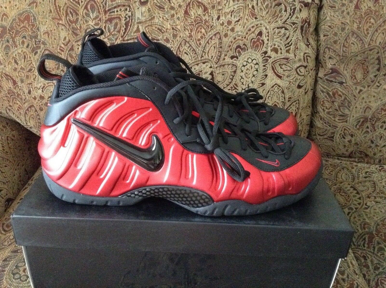 Nike Air Foamposite Pro University Red 624041-604 Size 18
