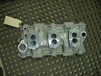 Offy Offenhauser 283 327 350 Chevrolet Chevy 3 Carburetor Tripower Intake