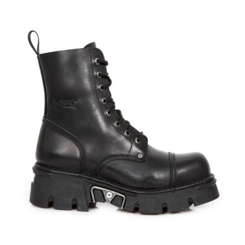 Gothiques Unisexe Mili083 New S19 de Bottes Rock Militaires Chaussures Biker Noires nwX80PkNO