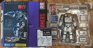 HASBRO Transformers Masterpiece MP-02 Soundwave 2013 COMPLETE