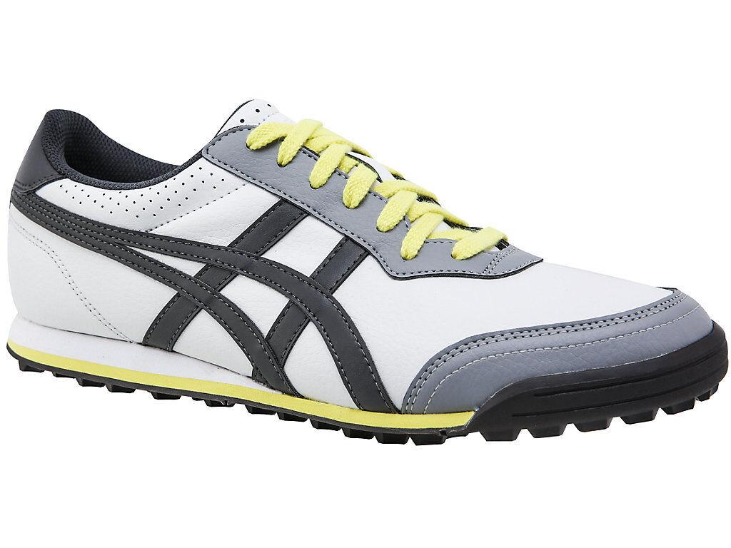 [ASICS] GEL-PRESHOT Men's CLASSIC 2 TGNA01.1116 Gray Men's GEL-PRESHOT Golf Shoes US 7.5 - 9.5 a91e1d