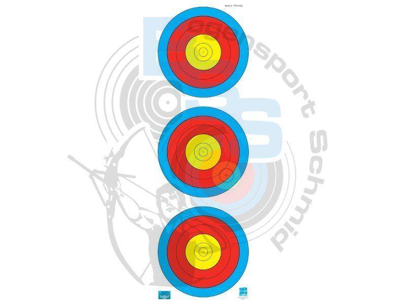 Fita 3er Spot Spezialpapier Bogenschießen Zielscheibe Zielscheibe Zielscheibe Recurvebogen Compound Set c95f6c