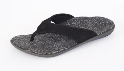 Men/'s Orthotic Sandals Black 11 Spenco Yumi Leather