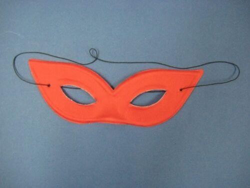 Maschera DOMINO//Occhi Maschera-colore ROSSO o BIANCO