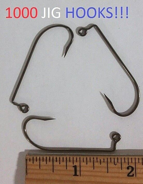 1000 Eagle  Claw 2 0 90o Barbless Bronze Jig Hooks (630BM-2 0) EB070201  in stock