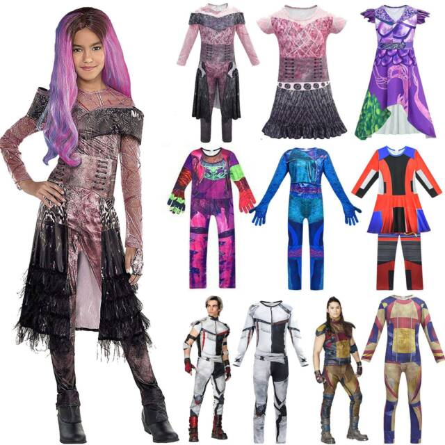 Kinder Jungen Jay Descendants 3 Cosplay Kostüm Party Karneval Overall Jumpsuit