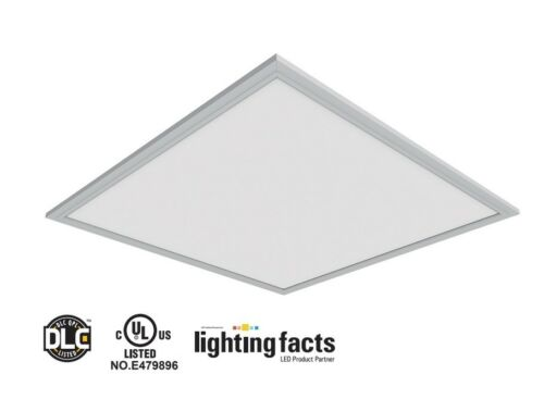 2x2/' 40W DLC4.2 Commercial UltraThin Drop Ceiling Dimmable LED Panel Light 4pack