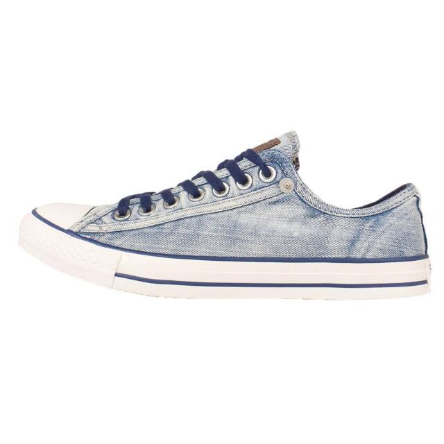 Converse Chuck Taylor All Star Blue White Denim Mens Casual Shoes 151076C