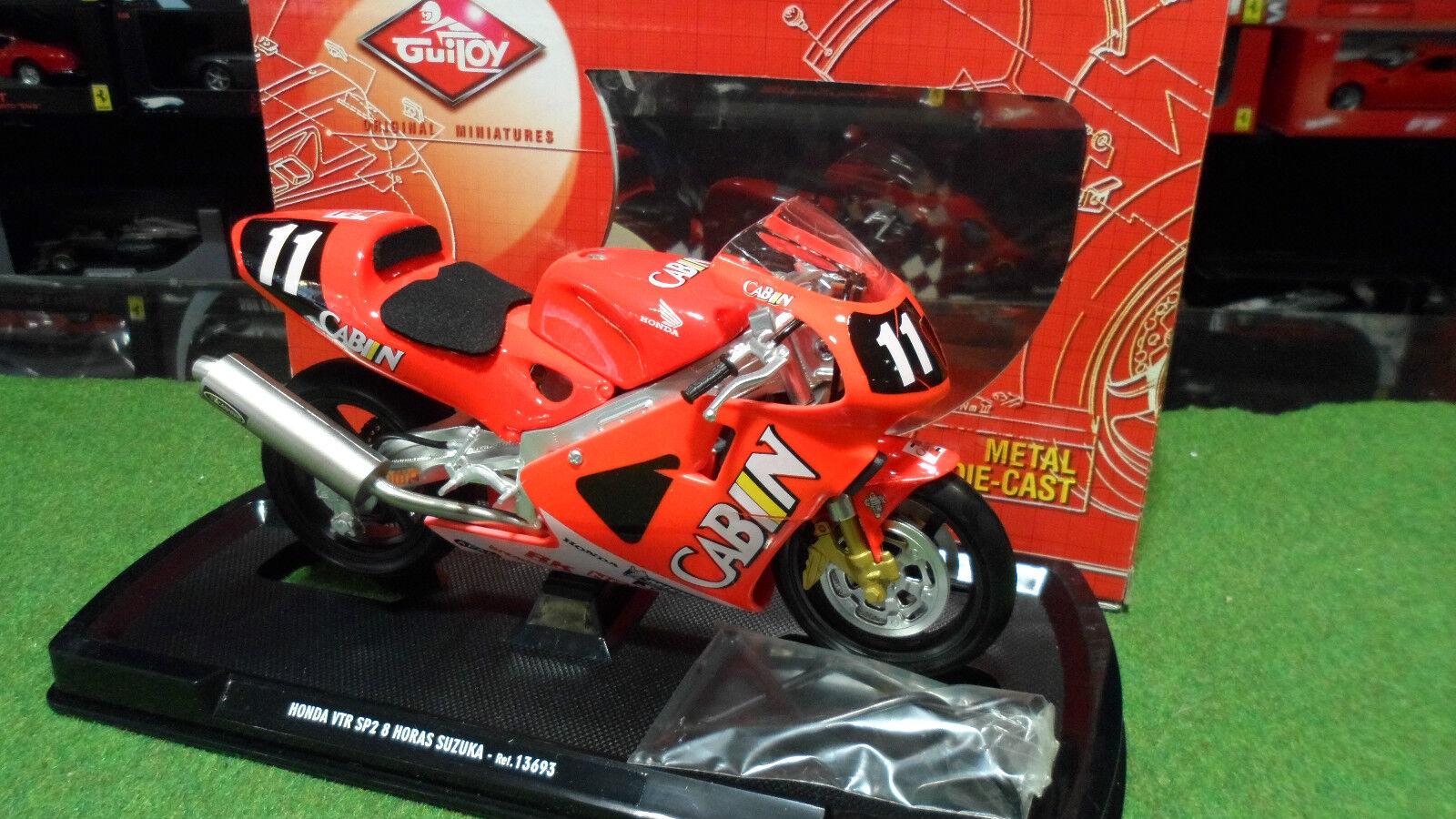 MOTO HONDA VTR SP2 8 8 8 HORAS SUZUKA   11 1 10 GUILOY 13693 miniature de collection 2c79f5