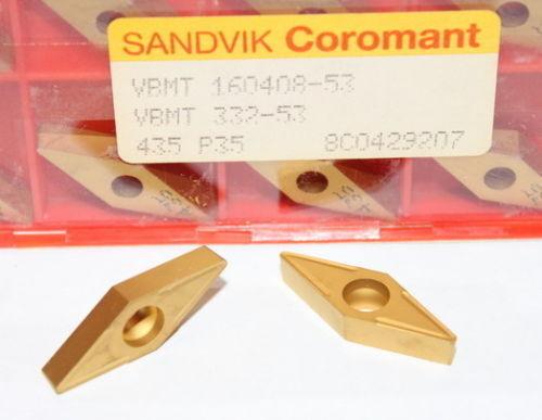VBMT 332-53 16 04 08-53 435 SANDVIK INSERTS