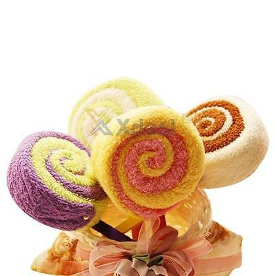 XD#3  Bath Towels Lollipop Towel Bridal Baby Shower Wedding Party Favor Gift
