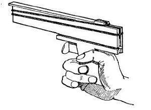 rubber band gun plans ebay