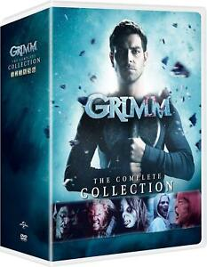 Details about GRIMM The Complete Collection Series All Seasons 1-6 DVD Set  Episode Box 2018 TV