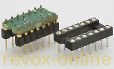 Ersatz für µA739, µA749, RC4739, uA749, uA739, SN76131 mit OPA 2134 und Sockel