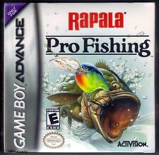 GBA Rapala Pro Fishing (2004), New & Factory Sealed
