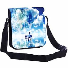 Bench In The Clouds Small Cross-Body Shoulder Bag Handy Size