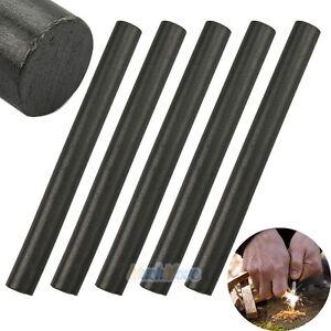 "Large 1//2 x 5/"" Ferrocerium Rod Flint Fire Starter Magnesium Outdoor Camping"