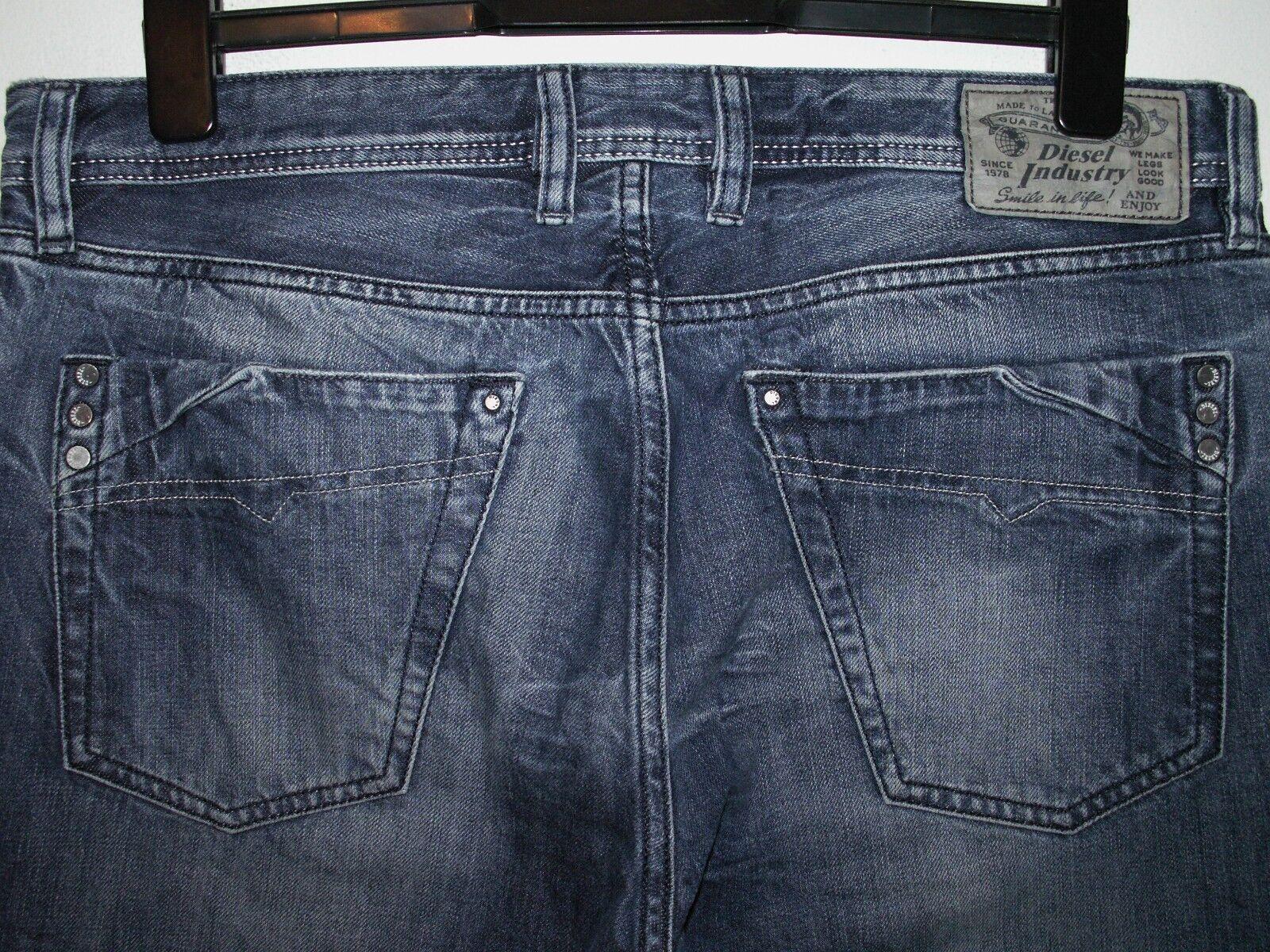 Diesel mennit regular-straight fit jeans wash 008B9 W34 L32 (a3422)