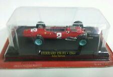 FERRARI 158 F1 1964 John SURTEES F1 FORMULE 1 N°2 rouge au 1/43 avec blister
