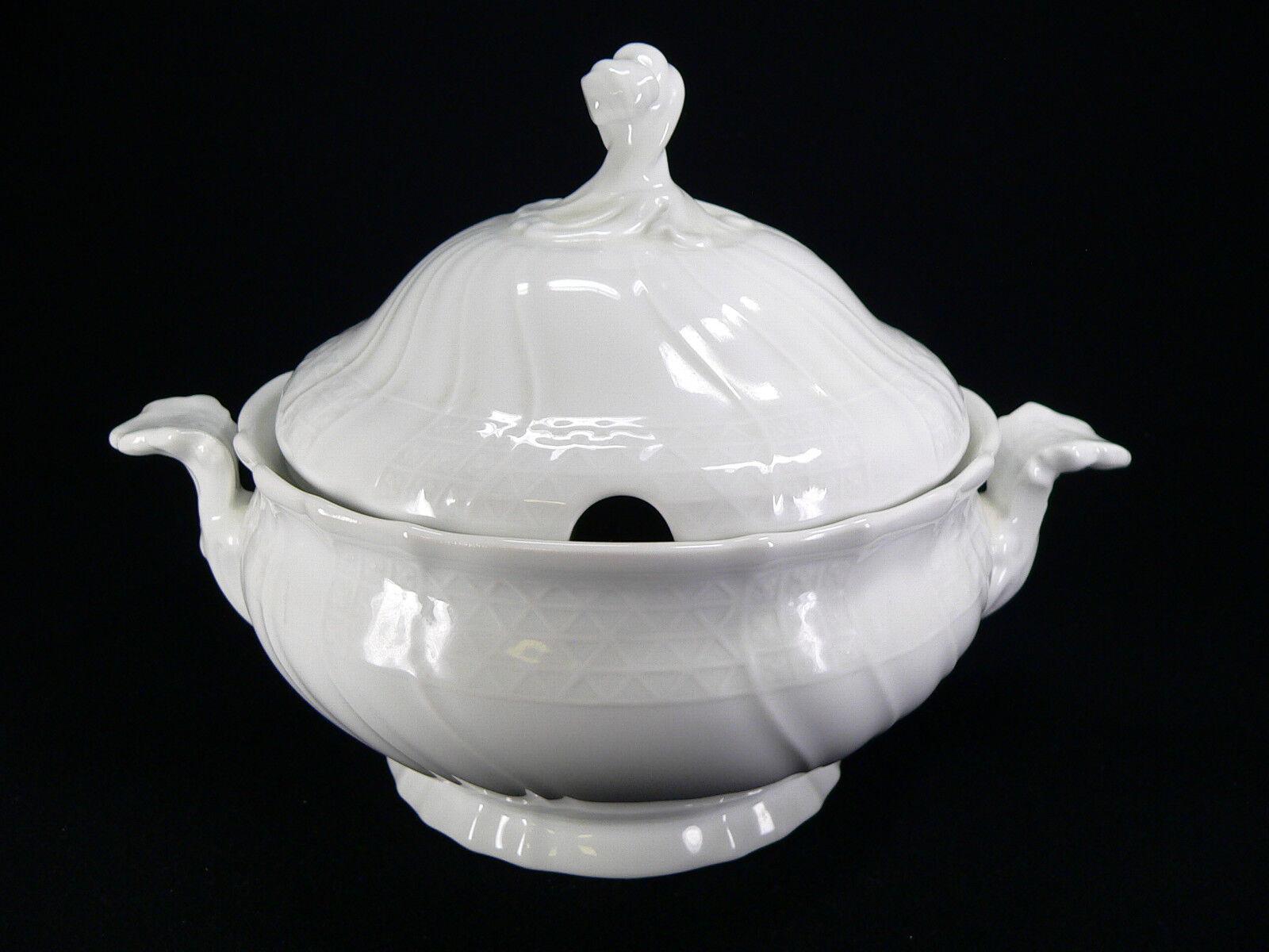 moda classica Hutschenreuther Dresda Bianco-minestre Zuppiera Zuppiera Zuppiera 3 LITRI  la vostra soddisfazione è il nostro obiettivo