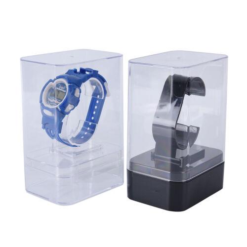 1x Kunststoff Uhrendisplay Halter Ständer Rack Schaufenster Werkzeugstän ZF