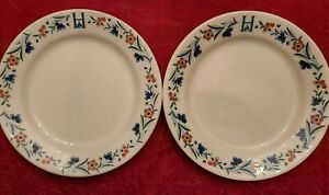 """Virginia Homestead Hotel Hot Springs VA  8.25"""" Lunch Plates By Homer Laughlin"""