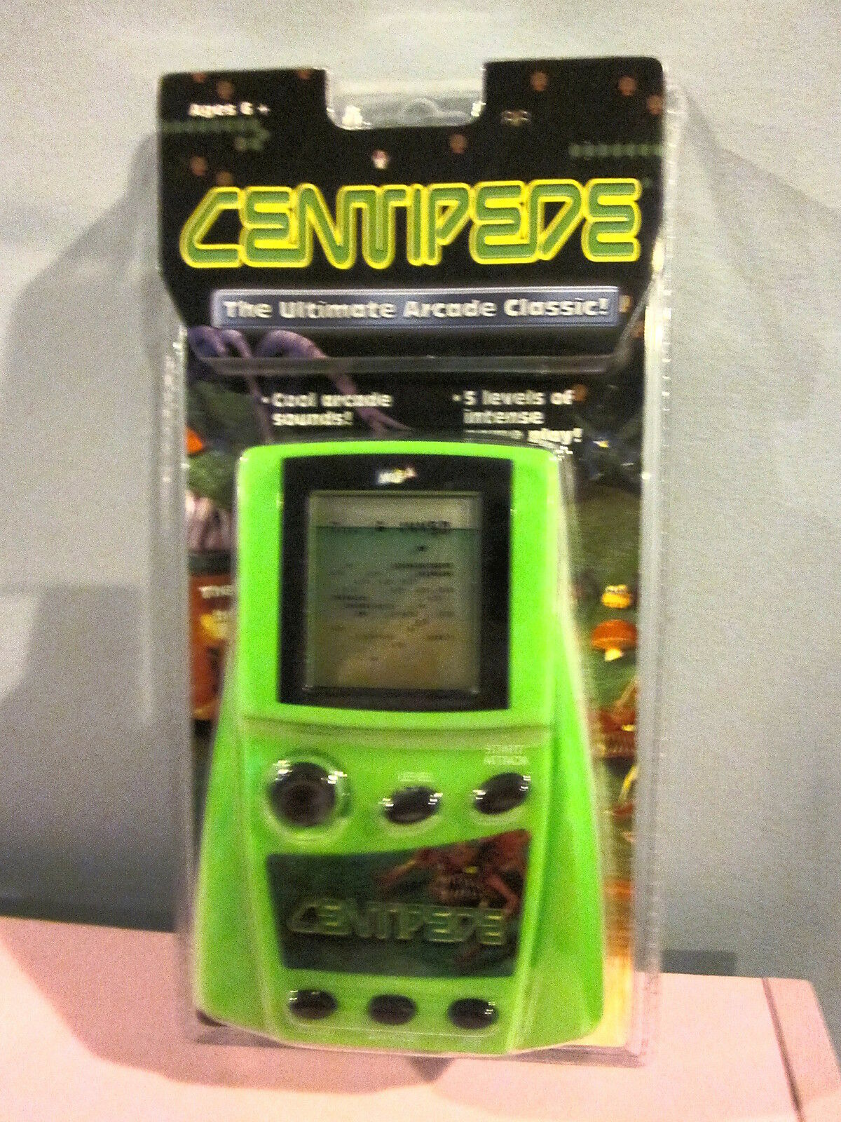 MGA Centipede Ultimate Arcade Classic Sealed
