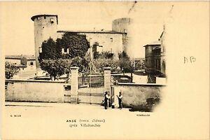 CPA ANSE Vieux Chateau (463213)