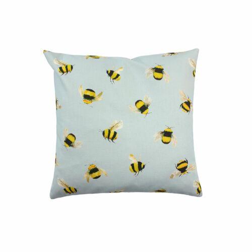"""Remplis de Evans Lichfield bourdon abeille bleu 17/"""" 43 cm coussin"""