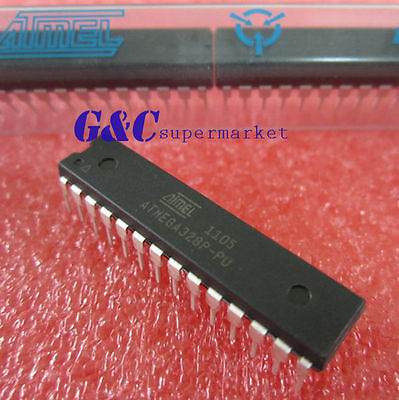 ATMEGA328P-PU DIP-28  Microcontroller With ARDUINO UNO Bootloader NEW