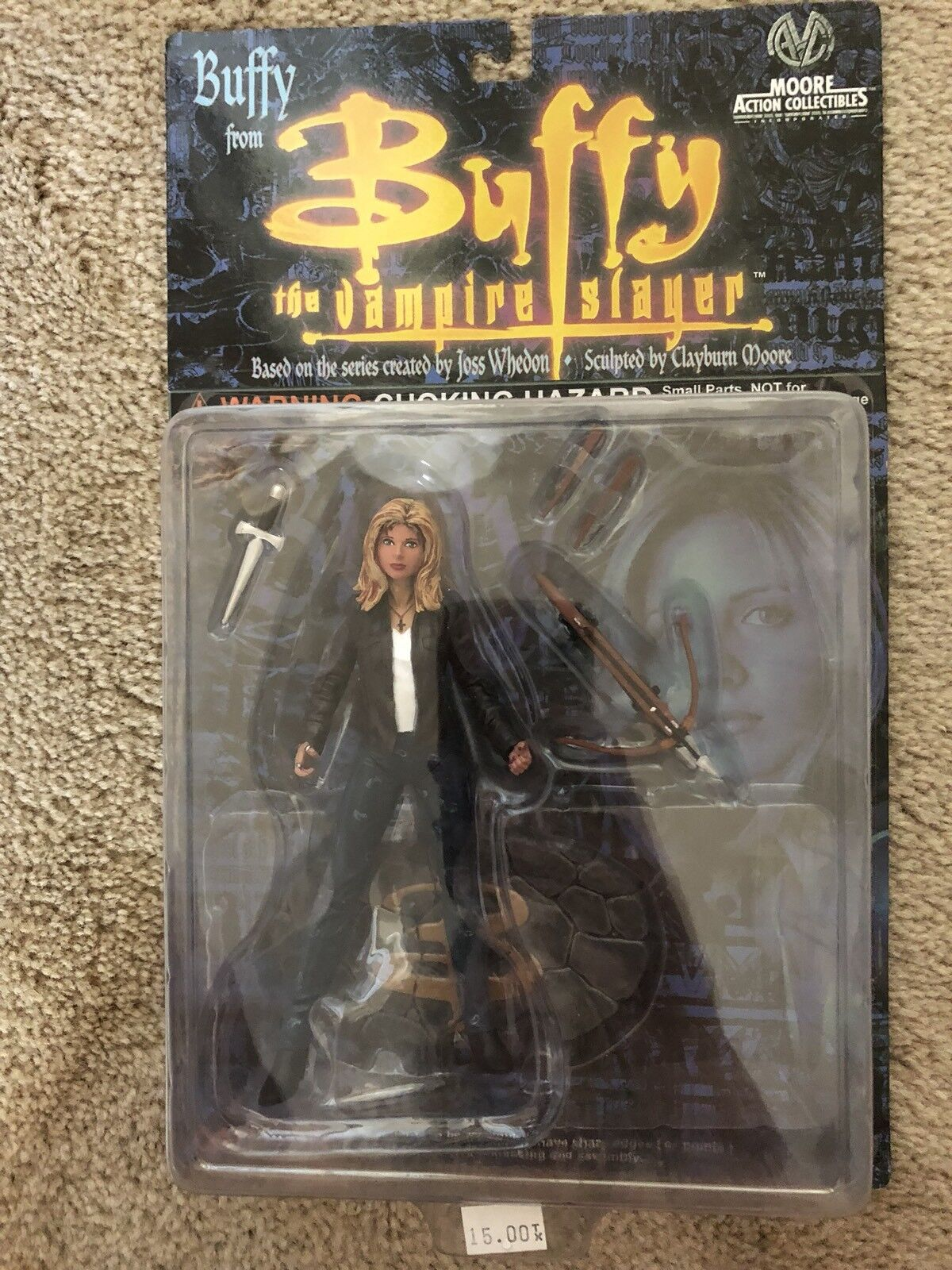 Buffy the Vampire Slayer Buffy season 1 figure Moore Action Collectibles